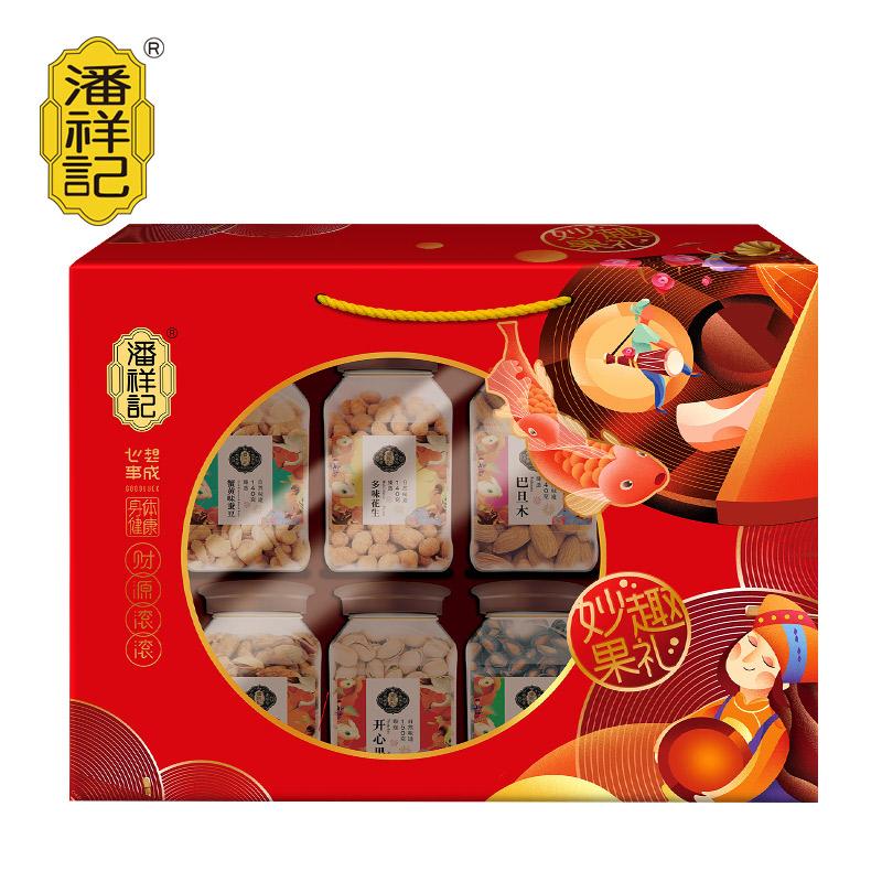 1.34千克 潘祥记妙趣果礼