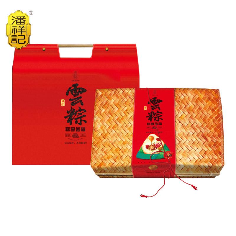 粽享金福 1560g 礼盒 6味12枚 咸鸭蛋60克6个